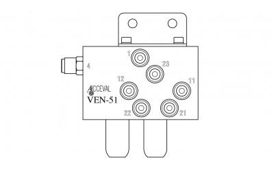 VEN - 51 Lift Axle Control Valve
