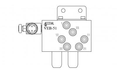 VEB - 51 Lift Axle Control Valve