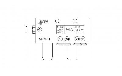 VEN - 11 Lift Axle Control Valve